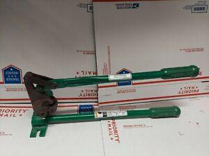 """Greenlee 36587 Threaded Rod Cutter 3/8"""" 1/4"""" All-thread NICE! ED4U #9009"""
