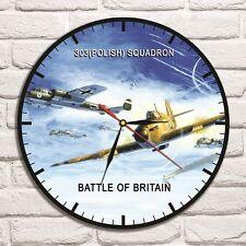 Reloj De Pared 303 escuadrón Color Vinyl Record De Diseño Hogar Arte Coleccionista De Oficina 1