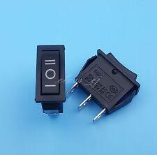 5Pcs Black 3Pin ON-OFF-ON 3 Position Rocker Switch 15A/250V 20A/125V SPDT