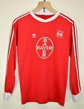 1980s TSV Bayer Leverkusen Shirt Football Soccer Jersey Trikot Original size S