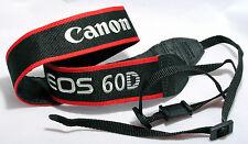 CANON CAMERA STRAP for EOS 60D DIGITAL Grey Red Black GENUINE ORIGINAL