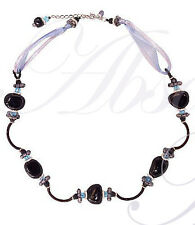 The Elizabeth Choker Necklace from the Black Collection by Lalo Orba - rare!