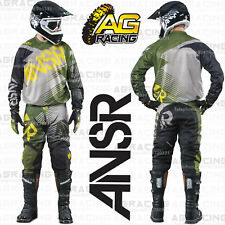 Answer Adult Syncron Forrest Green Race Kit 28 inch MD Jersey Motocross