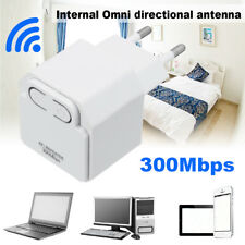 Wifi Router Repeater Network Range Expander Wireless 300M Signal Booster EU Plug