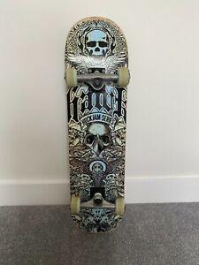 RARE Tony Hawk Complete Huck Jam Series Skateboard - Board Skull Bird Blue Eagle