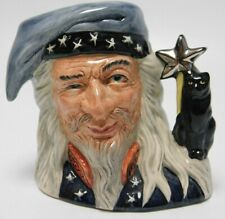 Royal Doulton Character Toby Jug -D6909 The Wizard 4""