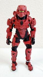 "2012 McFarlane Halo 4 Series 1 Spartan Warrior Loose 5"" Action Figure Incomplete"