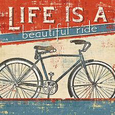 BICYCLE ART PRINT Beautiful Ride I Pela Studio