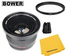 Bower Wide Angle Fisheye Lens Kit For Nikon D7100 D7200 D5500 D5300 D3300 D3200