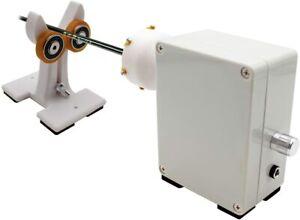 Fishing Rod Winding Machine DIY Fishing Rod Epoxy Resin Rotating Gluing Machine