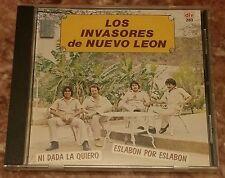 Los Invasores De Nuevo Leon - Ni Dada La Quiero CD