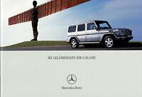 1115MB Mercedes G-Klasse Prospekt 2004 5/04 deutsche Ausgabe brochure broszura