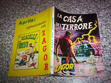 ZAGOR ZENITH N.84 ORIGINALE 1968 MB/OTTIMO TIPO WEST TEX MARK ARALDO RANGER