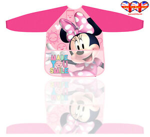 Children Apron, Minnie Mouse Apron For Girl's & Boys Official Licensed(2-6 Year)