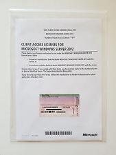 10 CAL USER (Benutzer) für Microsoft Windows 2012 Server Standard (auch R2) MUI