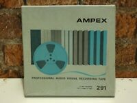 1 x Brand New Ampex 291, 7in 1/4in Wide Reel To Reel Recording Mastering Tape