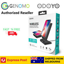 Odoyo 2 in 1 Wireless Charger Dock with Wireless Power bank - Apple/Samsung/LG