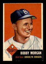 1953 Topps #85 Bobby Morgan DP VGEX X1738399