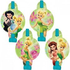 New Tinker Bell Fairies Party Favors Blow Outs 8Ct Disney Birthday Supplies Horn