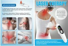 Cold Laser Pain Therapy Device Relief, Suitable for Knee, Shoulder, Back, Joints