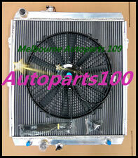 50mm Aluminum Radiator & Fan for Hilux KZN165R 3.0L Diesel 4X2 4X4 SR 1997-2005