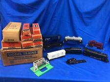 Lionel Postwar 1507WS Steam Freight Set With Original Boxes