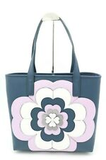 NWT Kate Spade New York Reiley Spade Flower Applique Leather Large Tote Bag $399