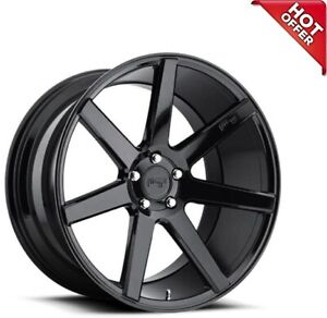 "Fit Challenger  20"" Staggered Niche Wheels M168 Verona Gloss Black Popular Rims"