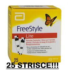 FREESTYLE LITE 25 STRISCE REATTIVE GLICEMIA ABBOT