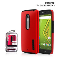Incipio DualPro Dual Layer Protection Case For Droid Maxx 2 Red
