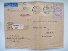 !! Seltener Brief Holland Niederländisch Indien nach Deutschland 1932 !! 436