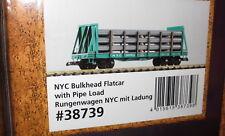 Piko Spur G 38739 NYC Rungenwagen mit Ladung Rohre  __ NEU