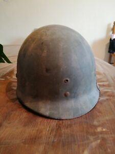 Original WW2 US liner M1 casque MSA helmet stahlhelm OMAHA BEACH leger USM1 1944