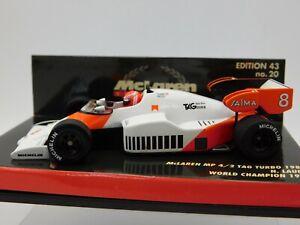 1/43 Minichamps 1984 McLaren MP4/2 #8 World Champion N. Lauda #530844308