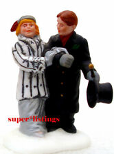 Dept. 56 Steppin' Out On The Town Man & Woman Only Christmas in City 58885
