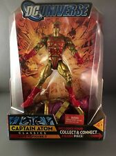 DC UNIVERSE CLASSICS WAVE 4 CAPTAIN ATOM / GOLD 6in Original (Unopened)