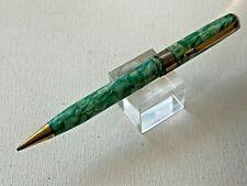 c1930s Arnold Fountain Pen & Pencil combination Green mottled beauty