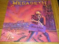 Megadeth - PURPLE TRANSLUCENT VINYL Peace Sells LP MINT SEALED 2500 Only