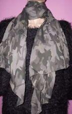Damen-Schals aus 100% Baumwolle mit Camouflage-Muster