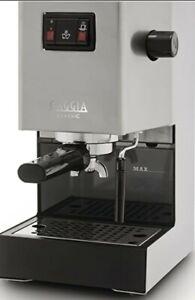 Gaggia Classic 58mm Stainless Steel Espresso Machine 110v