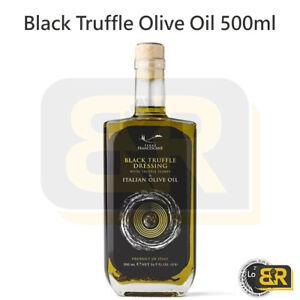 Terre Francescane Black Summer Truffles Dressing Olive Oil 500ml for Vegetarians