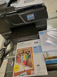 HP Officejet Pro 8600 All-In-One Inkjet Printer W/ Ink and extras!