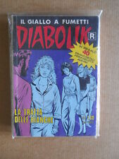 DIABOLIK Ristampa Bianca n°494 con Francobolli Adesivi  [G566]