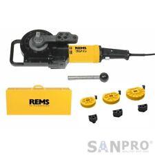 Rems curvo set 15-18-22mm eléctrica (230v) profesional una dobladora de tubos también F. acero inoxidable