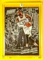 Black Friday King Lebron James Cavaliers Spectacular SP Ultra Rare Noir Insert