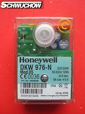 1Feuerungsautomat Honeywell Satronic DKW 976-N Mod.05 Ölfeuerungsautomat MMO 876