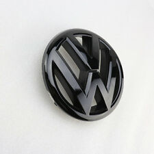 Gloss Black Front Grille Emblem Badge For VW Jetta MK6 2.5 TDI 2.0T GLI New
