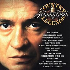 Johnny Cash Country Legends CD New Sealed Rare OOP Sony Music Ring Of Fire