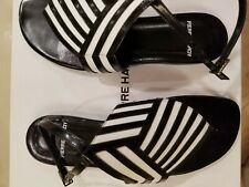 Pierre Hardy Black And White Sandals Size 36