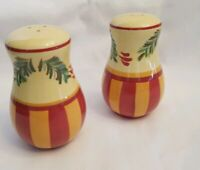 "SOUTHERN LIVING GAIL PITTMAN ""SIENA"" SALT & PEPPER SHAKERS"